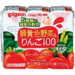 녹황색야채사과100125mlx3개