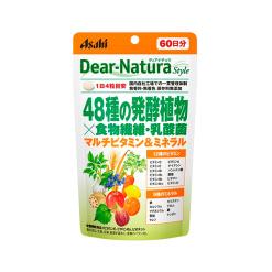 디아나 츄라 스타일 48 종 발효 식물 x식이 섬유 240 마리