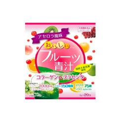 맛있는 과일 녹즙 콜라겐 태반 20 포
