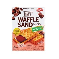 밸런스 파워 와플 샌드 초콜릿 3개 세트