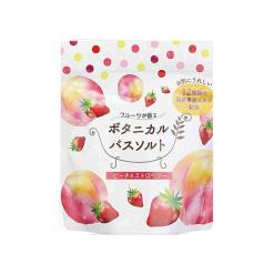 보태니컬 목욕 소금 복숭아 스트로 베리 분포 30g