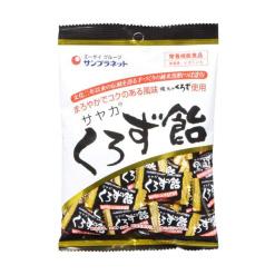사야카 쿠로즈 흑초 캔디 65g