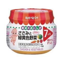 큐피이유식닭가슴살과녹황색채소70g