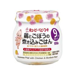 큐피이유식닭고기와우엉밥밥100g