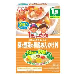 1세부터유아식돼지와야채의일본식고명덮밥85g×2