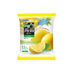 오리히로 곤약젤리 파우치 시칠리아 레몬 6개입
