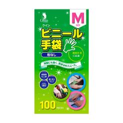 퀸 비닐 장갑 m 100 매