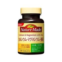 네이처 칼슘 마그네슘 아연 90 마리