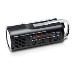 충전 라디오 라이트 블랙 pr 321