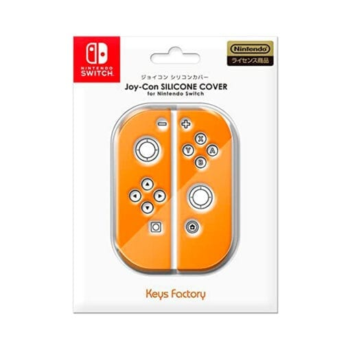닌텐도 스위치 커버 및 케이스 조이콘용 실리콘 커버오렌지