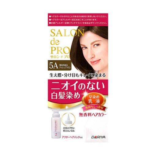 다리야 일본 살롱드프로 염색유액 5a깊이있는 애쉬 브라운