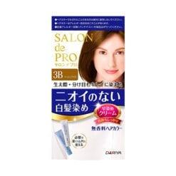 다리야 일본 살롱드프로 염색크림백발용 염색 크림 3b베이지 브라운