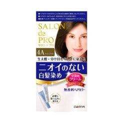 다리야 일본 살롱드프로 염색크림백발용 염색 크림 4a애쉬 브라운