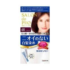 다리야 일본 살롱드프로 염색크림백발용 염색 크림 4r버건디