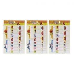 422 포장 용품 호빵맨 이름 스티커 이름 스티커 내 첫 세이카 3개1세트