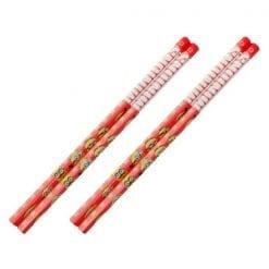 4901770597096 미니언 즈 육각 축 빨간색 연필 2 개 세트 2개1세트