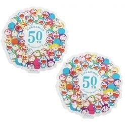 4970381464608 스티커 도라에몽 여행 스티커 50 주년 기념 다채로운 도라에몽 2개1세트