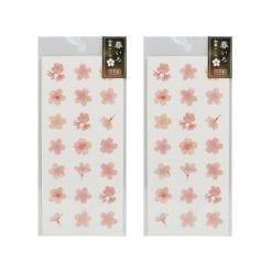 4990012861279 스티커 봄 빛깔 일본식 스티커 벚꽃 3 2개1세트