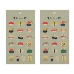4990012861286 스티커 맛있는 스티커 데코 시루 초밥 해피 2개1세트