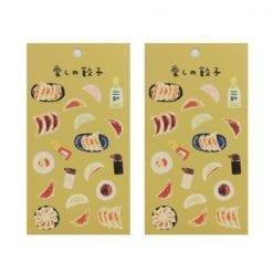 4990012861309 스티커 맛있는 스티커 데코 시루 사랑의 만두 2개1세트