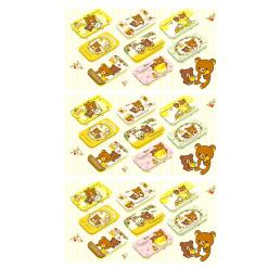 551 8개 세트 리락쿠마 미니 캔 꿀의 숲 수확제 3개1세트