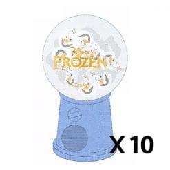 607 디즈니 겨울왕국 철컥 지우개 올라프 10개1세트