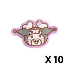 631 허니웍스 × 마이 멜로디 마그넷츠 곰돌이 원형 페이스 10개1세트