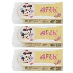 93 디즈니 썸썸arch 아치 지우개 3개1세트