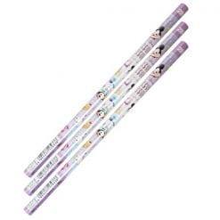98 디즈니 썸썸 환축 연필 2b 퍼플 3개1세트